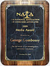 National Consumer Attorney Group Honors Connecticut Watchdog Editor & Publisher